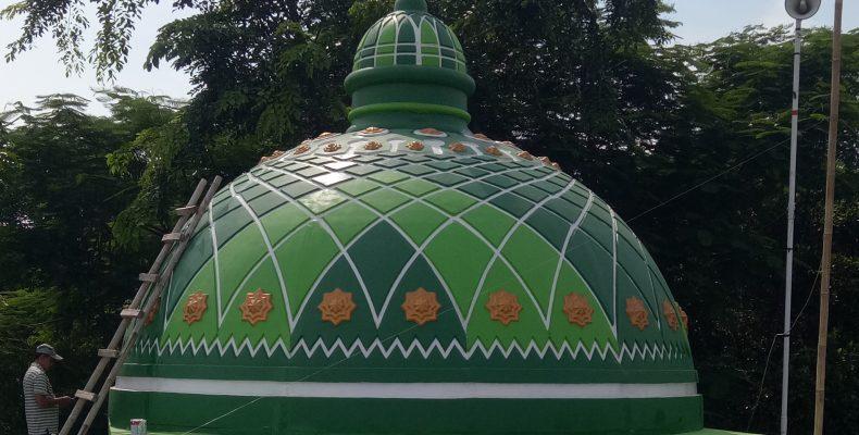 Pembuatan kubah masjid jakarta, kubah masjid bekasi, kubah masjid bogor